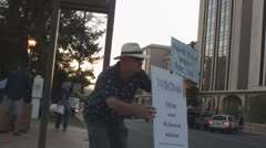 Occupy Tucson fall 2011 - 23 Stock Footage