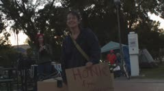 Occupy Tucson fall 2011 - 22 Stock Footage
