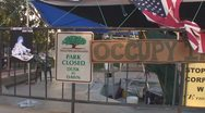 Occupy Tucson fall 2011 - 15 Stock Footage