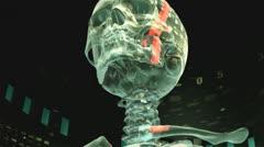 Future X-Ray - stock footage