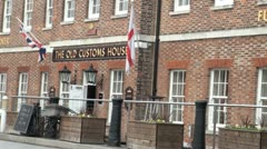 The Old Customs House, Portsmouth, England Stock Footage