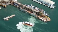 Kowloon Cruise Terminal Stock Footage