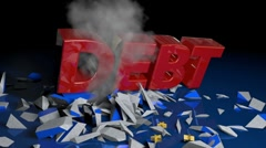 European Debt Crisis - EU 01 (HD) Stock Footage