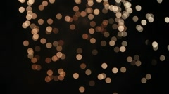 Circles of Light Stock Footage
