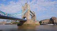 Stock Video Footage of Tower Bridge, London