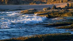 The shore at Dor Beach Stock Footage