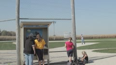 Stock Footage - Field of Dreams - Baseball Field - Tourists - Iowa Stock Footage