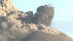 Amazing Explosive Eruption At Anak Krakatau Volcano Stock Footage