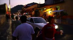 Street of Mexico Stock Footage