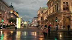 Walking in Wien Stock Footage