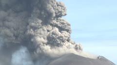 Explosive Eruption At Anak Krakatau Volcano Stock Footage