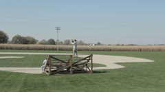 Stock Footage - Field of Dreams - Baseball Field - Tourists - Iowa Stock Footage