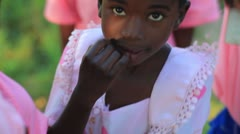 Some Youth playing in Kenya. - stock footage
