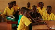 Stock Video Footage of Boys in a classroom in Kenya.