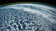 Stock Video Footage of Space Station Earth time lapse