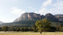 Blue Mountains Australia time lapse - stock footage