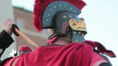 Roman Soldier - stock footage