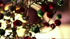 Small Christmas tree Stock Footage