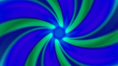 Psychedelic Spinning Loop 02C Vortex 30 fps - stock footage
