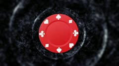 Poker Chip Background 2 - HD1080 Stock Footage