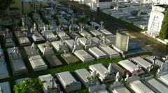 Cementery - graveyard 2 Stock Footage