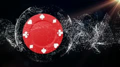 Poker Chip Background 4 - HD1080 Stock Footage