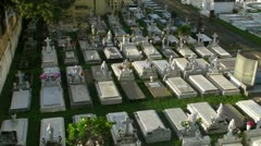 cementery - graveyard 1 - stock footage