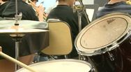 Stock Video Footage of Middle school students practicing in Music Class (3 of 10)