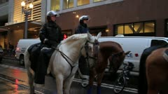 Occupy Portland on November 17th 2011 Stock Footage