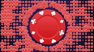 Stock Video Footage of Poker Chips Background LOOP 1 - HD1080
