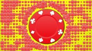 Stock Video Footage of Poker Chips Background LOOP 2 - HD1080