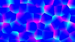 Blue and pink glow Stock Footage