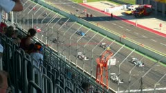 Stock Video Footage of Eurospeedway 20110903 145729p5
