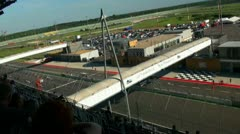 Stock Video Footage of Eurospeedway 20110903 150100p5