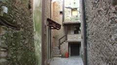 Quiet italian village 04 Stock Footage