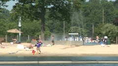 At the beach (2 of 9) Stock Footage