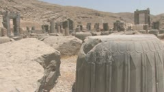 Persepolis ws Stock Footage