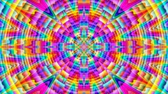Prismatic mandala - stock footage