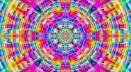 Stock Video Footage of Prismatic mandala