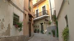 Quiet italian village 09 Stock Footage