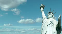 Statue of Liberty - stock footage