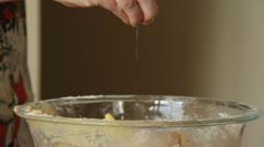Baking Sugar Cookies 7 Stock Footage