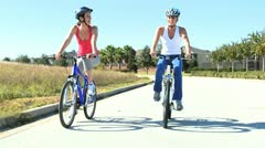 Young Caucasian Females HealthyLifestyle Stock Footage