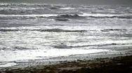 Atlantic Ocean waves in Slow Motion Stock Footage
