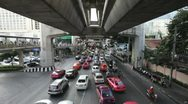 Stock Video Footage of Timelapse of Bangkok traffic