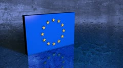 European Debt Crisis - EU 03 (HD) Stock Footage