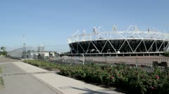 2012 Olympic Stadium Stock Footage