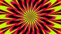 Pulsating Psychedelic Loop 01A 25 fps - stock footage