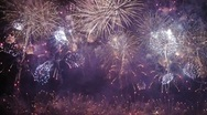 Stock Video Footage of HD - Fireworks show. Final