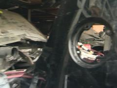 Used car parts scrap. Trade in old car parts. Stock Footage